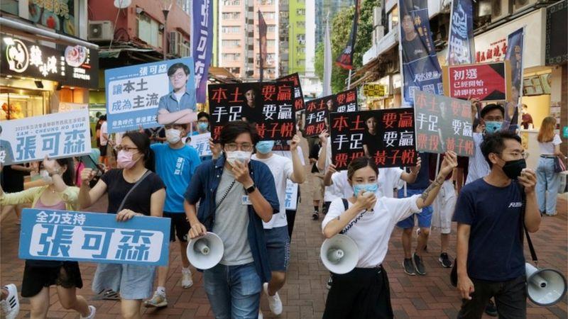 Unos 50 legisladores y activistas detenidos en Hong Kong bajo la polémica ley de seguridad aprobada por China