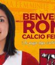 La Roma, que juega en la Serie B de Italia, es el nuevo equipo de Ana Lucía Martínez.