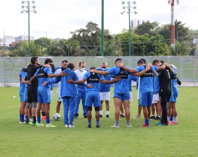 La Selección Nacional de Guatemala se entrena a doble turno previo a enfrentar a Puerto Rico