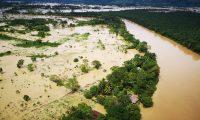 Las inundaciones y aumento de los caudales de los ríos en el área norte del país  por las tormentas impactaron en varias hidroeléctricas. Foto con fines ilustrativos. (Foto, Prensa Libre: Cortesía).