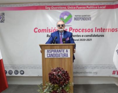 'Kiko' se registra como precandidato a la gubernatura en Querétaro