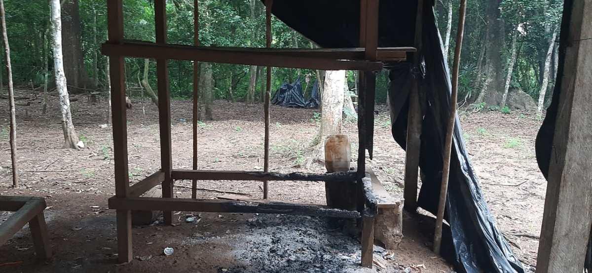 Conap denuncia destrucción de puesto de control cercano al Parque Nacional Laguna del Tigre