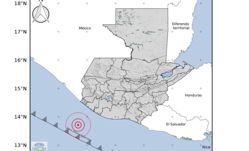 Temblor de 6.1 grados sacude el territorio nacional