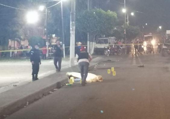 Jorge Emilio Díaz Navas murió baleado en el área urbana de Tiquisate. (Foto Prensa Libre: Cortesía)