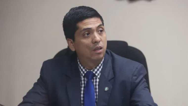 El juez Mynor Moto. (Foto Prensa Libre: Hemeroteca PL)