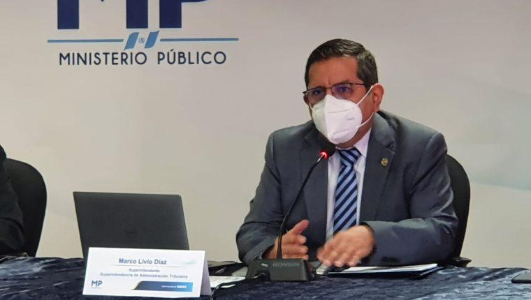 El superintendente Marco Livio Díaz Reyes fue confirmado en el puesto por el Directorio luego de la evaluación del desempeño en 2020. (Foto Prensa Libre: Hemeroteca)