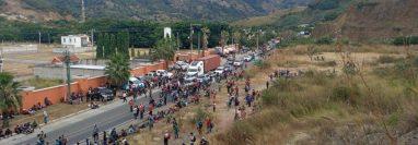 Miles de hondureños buscan llegar a EE. UU. para mejorar sus condiciones de vida. (Foto Prensa Libre: Migración)
