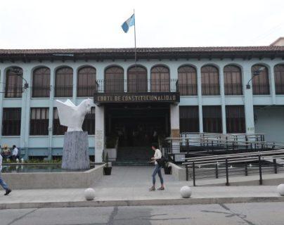 En abril deberá tomar posesión la nueva magistratura de la Corte de Constitucionalidad. (Foto Prensa Libre: Érick Ávila).