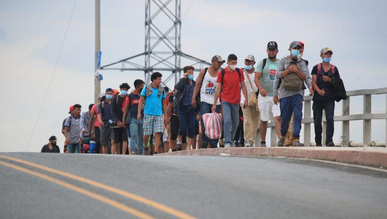 Hondureños buscan llegar a EE. UU. para mejorar sus condiciones de vida. (Foto HemerotecaPL)