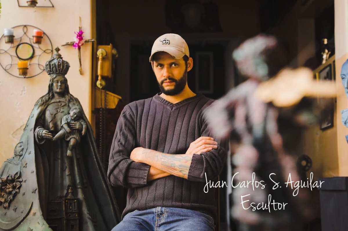 Juan Carlos Serrano Aguilar: manos que crean y transforman