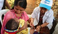 En el 2020 la cobertura de vacunación en niños menores de cinco años bajó un 6%, debido a las complicaciones generadas por la pandemia del covid-19. (Foto Prensa Libre: Hemeroteca PL)