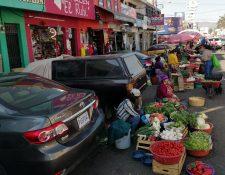 Comerciantes aseguran que cumplen con todos los protocolos de seguridad. (Foto Prensa Libre: María José Longo)