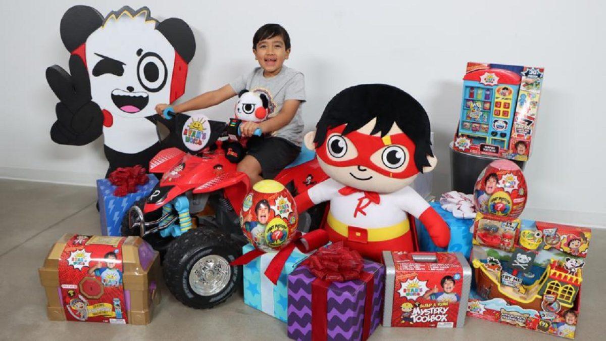 Ryan Kaji, el youtuber de 9 años que se está volviendo cada vez más rico