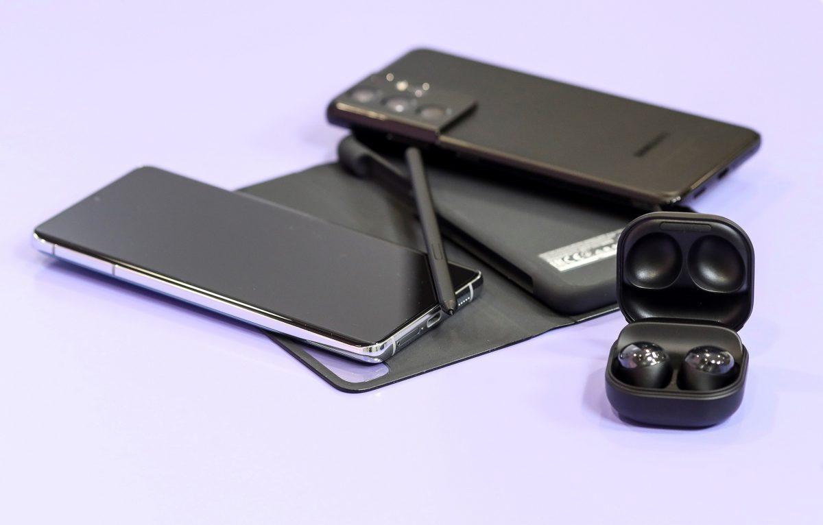 #SamsungUnpacked   Así luce el nuevo teléfono móvil inteligente de Samsung, el Galaxy S21