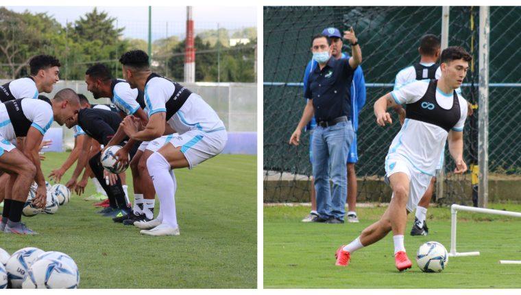 El técnico nacional, Amarini Villatoro, aseveró que esta convocatoria será decisiva para fijar la base de jugadores para encarar la eliminatoria a Qatar 2022. Foto Prensa Libre: Fedefut