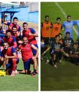 Municipal y Antigua GFC jugarán una de las semifinales del torneo Apertura 2020. Foto Prensa Libre: Club Municipal y Erick Ávila.
