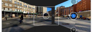 La función Photo Sphere de la aplicación Google Camera puede unir una foto de 360 grados de un lugar. (J.D. Biersdorfer / The New York Times)