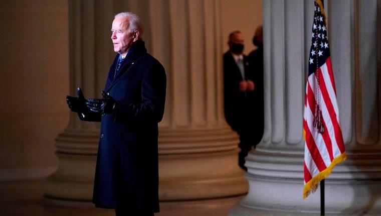 Con la llegada de Biden al poder, se esperan cambios en la política exterior de EE. UU. (Foto Prensa Libre: AFP)