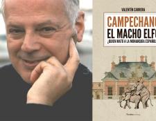 """""""Campechano: el macho Elfo"""", la novela que ironiza a la monarquía española"""