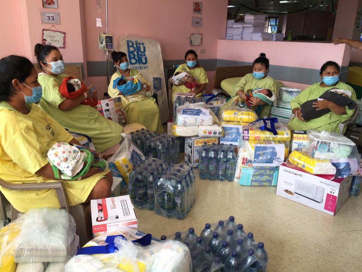 6 madres son premiadas por la Maratón de la Cigüeña de Prensa Libre, dieron a luz en el Hospital General San Juan de Dios
