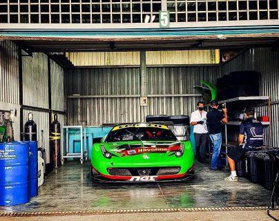 Carlos Zaid buscará el título en la categoría GTS en el Parque Viva en Costa Rica. Foto Prensa Libre: Cortesía Todo Motor El Salvador.