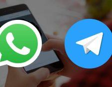 Varios usuarios en el mundo quieren migrar de WhatsApp a Telegram. (Foto Prensa Libre: Pixabay)