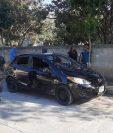 Nora Velázquez Lemus Martínez murió baleada en la 13 avenida y 1ª calle de la colonia La Barreda, zona 18 de la capital. (Foto Prensa Libre: CBM)