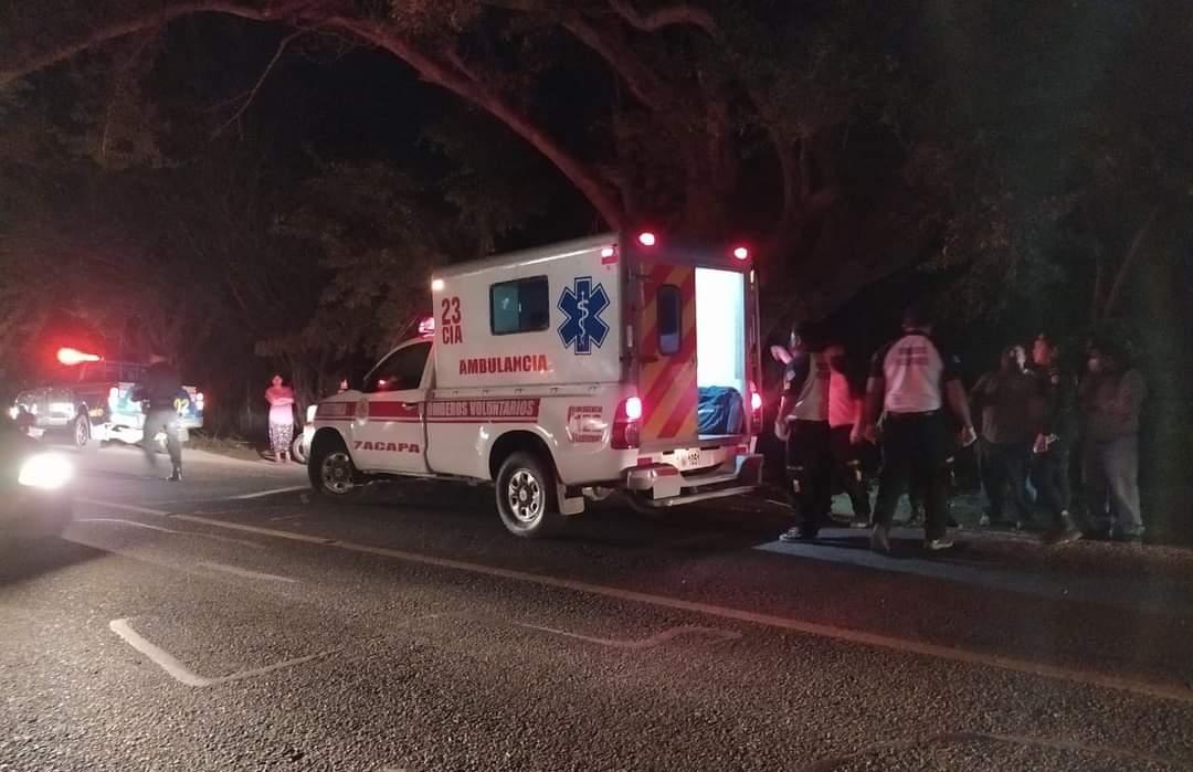 Dos hondureños y dos guatemaltecos resultan heridos en accidentes relacionados con la caravana migrante