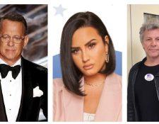 La investidura de Biden cerrará con un espectáculo presentado por Tom Hanks, Demi Lovato y Jon Bon Jovi. (Foto Prensa Libre: Hemeroteca PL)