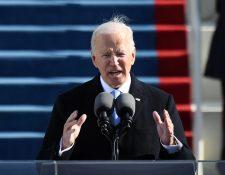 Joe Biden es el 4º presidente de Estados Unidos desde este 20 de enero de 2021. (Foto Prensa Libre: AFP)
