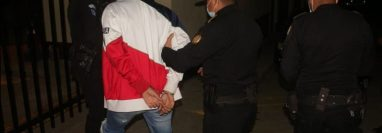 La Policía Nacional Civil (PNC) capturó la noche del domingo 10 de enero a Billi Antoni Sánchez España, de 24 años, en un operativo que llevaron a cabo en Teculután, Zacapa. (Foto Prensa Libre: PNC)