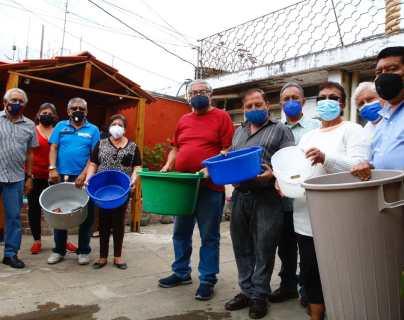 Escasez de agua agobia a unas mil 200 familias de la zona 6 desde hace más de un año