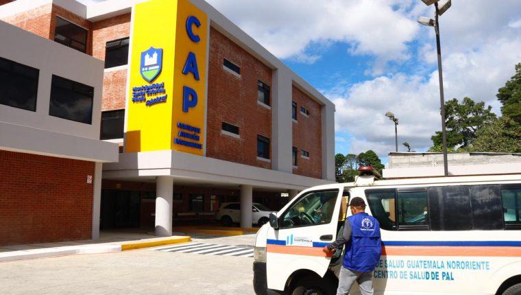 CAP de Santa Catarina Pinula, uno de los municipios en alerta máxima. (Foto: Fernando Cabrera)