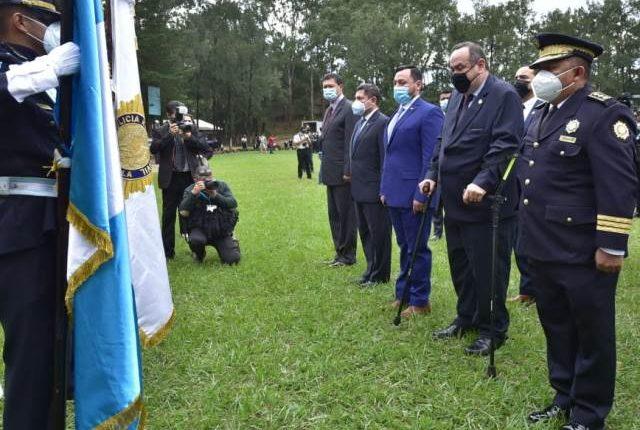 Giammattei destacó mejoras en la percepción de seguridad durante su primer año de gestión. (Foto: Presidencia)