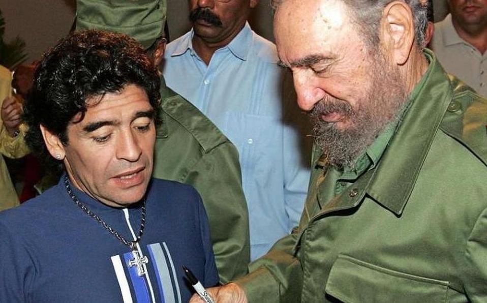 """Cuáles son los tesoros que Diego Maradona tenía en Cuba y """"con los que se podría abrir todo un museo"""""""