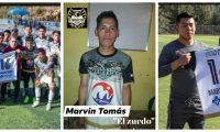 El domingo recién pasado el equipo le hizo un homenaje póstumo a Marvin Alberto Tomás López, de 22 años. Foto Prensa Libre: Juventud Comiteca.