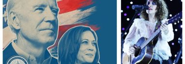 Gaby Moreno participará junto a otras estrellas, en el Latino Inaugural 2021. (Foto Prensa Libre: Hemeroteca PL)