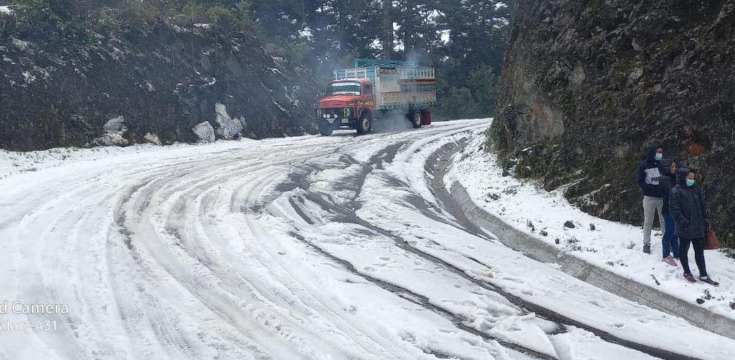 Espectacular granizada cae en Tacaná e Ixchiguán, San Marcos – Prensa Libre