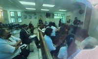 Audiencia de primera declaración para tres implicados en la muerte de Hillary Arredondo. (Foto: Carlos Paredes)