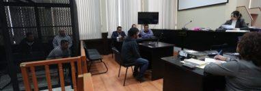 Audiencia contra miembros del caso Huistas impunidad ante la jueza Erika Aifán. (Foto: Hemeroteca PL)