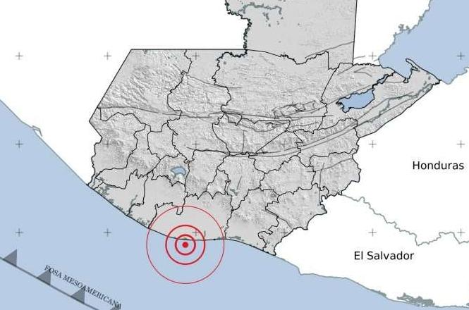 Temblor en Guatemala este 1 de enero 2021