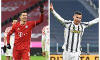 Lewandowski y Cristiano Ronaldo sí están en el 11 ideal de L'Équipe. (Foto Prensa Libre: AFP y EFE)