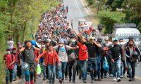 El Plan de Desarrollo Integral fue creado a raíz de las múltiples caravanas de migrantes que salieron desde el Triángulo Norte de Centroamérica y cruzaban México. (Foto Prensa Libre: Hemeroteca PL)