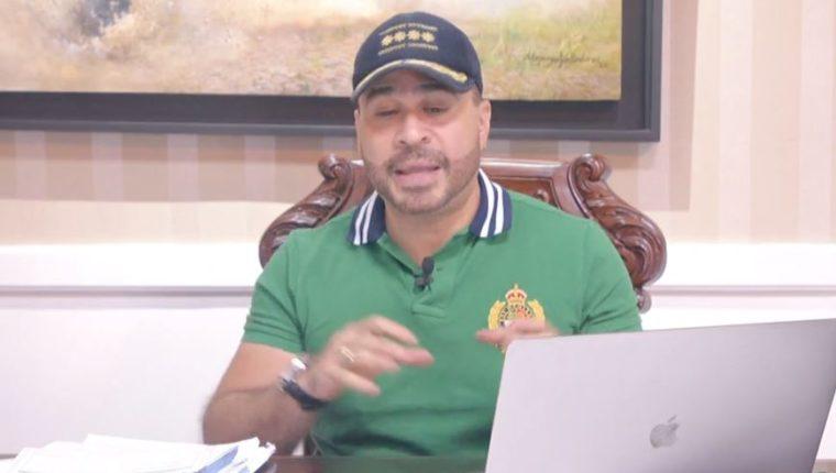 Alcalde Neto Bran. (Foto Prensa Libre: Tomada de Facebook)