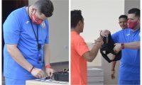 La Selección de Puerto Rico utiliza la tecnología para mejorar el rendimiento de sus jugadores. (Foto Prensa Libre: http://www.fedefutbolpr.com/)