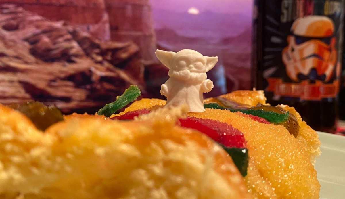 Baby Yoda en la Rosca de Reyes y la polémica que provocó en México