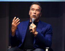 Arnold Schwarzenegger invita a la comunidad a vacunarse contra el coronavirus. (Foto Prensa Libre: EFE)
