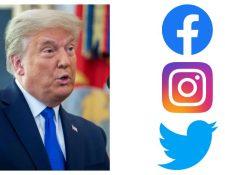 Twitter, Facebook e Instagram bloquean la cuenta de Donald Trump. (Foto Prensa Libre: Hemeroteca PL)