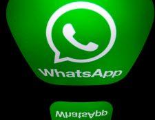 WhatsApp retrasa cambiar sus normas de servicio. (Foto Prensa Libre: AFP)