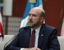 William W. Popp, embajador de Estados Unidos en Guatemala. (Foto: Presidencia)